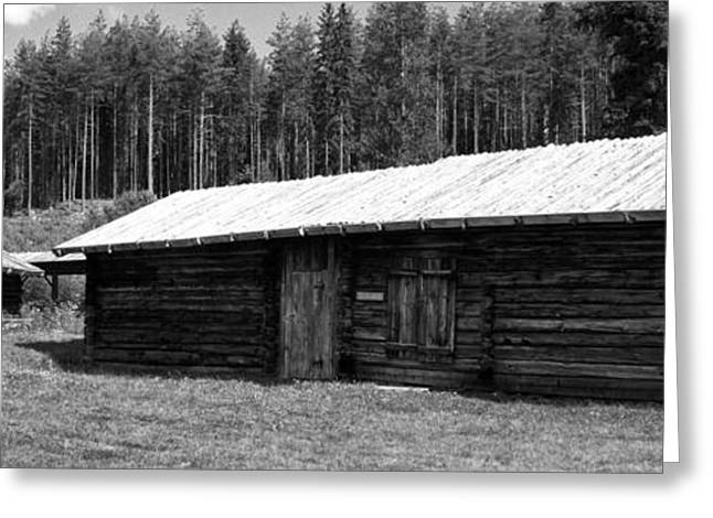 Wooden Building Greeting Cards - On the Farm Greeting Card by Mountain Dreams