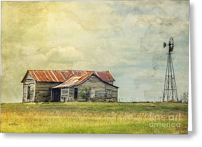 Old House Photographs Greeting Cards - Once Upon a Time Greeting Card by Betty LaRue