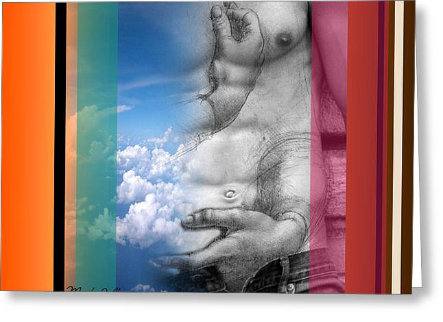 Human Being Greeting Cards - One  Greeting Card by Mark Ashkenazi
