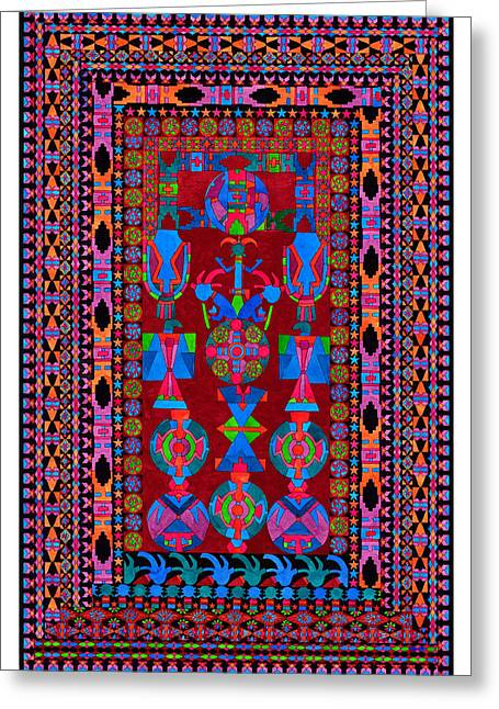 Lawrence Chvotzkin Greeting Cards - Open Ceremony Greeting Card by Lawrence Chvotzkin