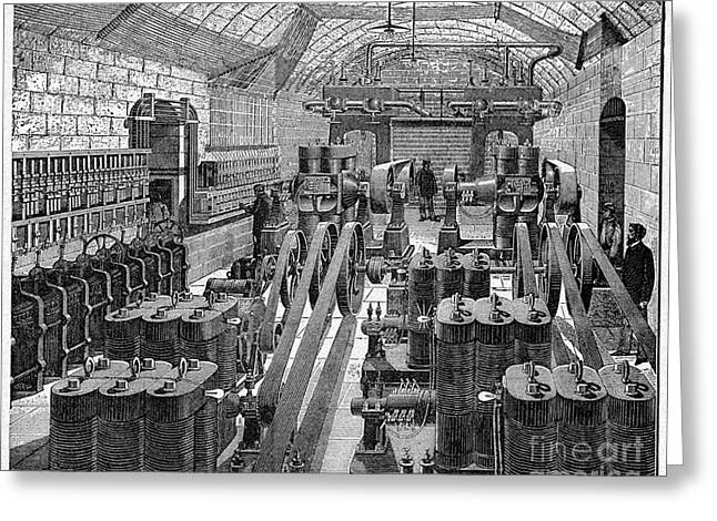 Generators Greeting Cards - Opera House Generator Room, Artwork Greeting Card by CCI Archives