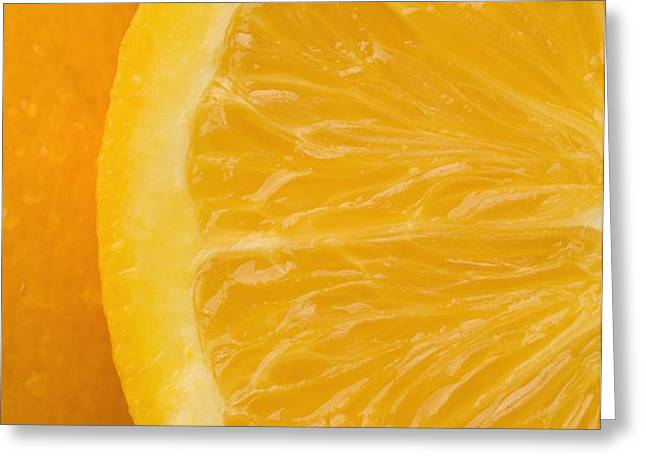 Oranges Greeting Card by Darren Greenwood