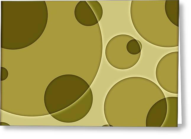 Spheroid Greeting Cards - Orbicular Design Greeting Card by Daniel Sicolo