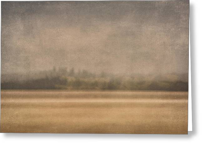 Subtle Greeting Cards - Oregon Rain Greeting Card by Carol Leigh