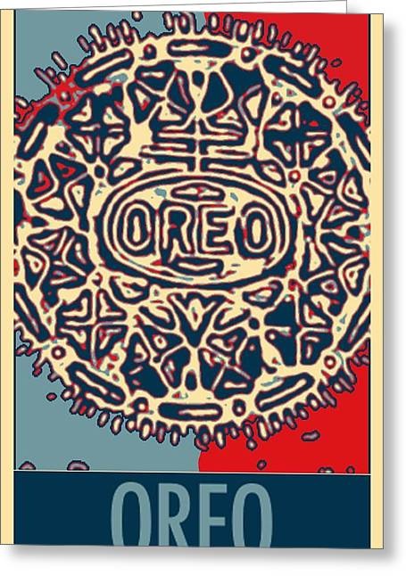 Oreo Greeting Cards - OREO in HOPE2 Greeting Card by Rob Hans