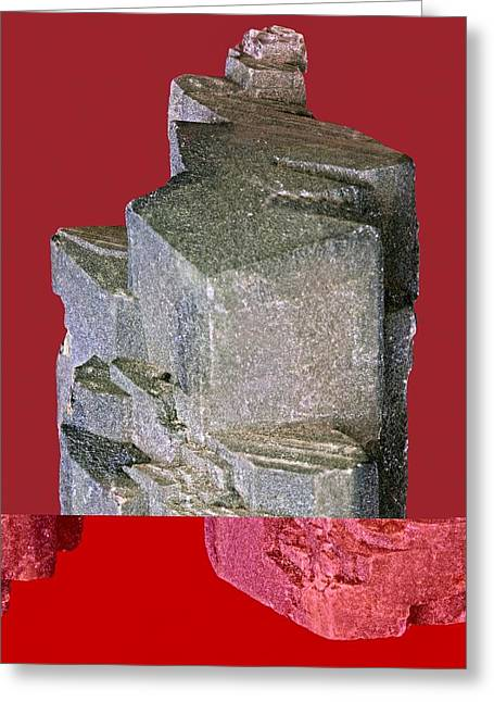 Graubunden Greeting Cards - Othoclase crystals Greeting Card by Science Photo Library
