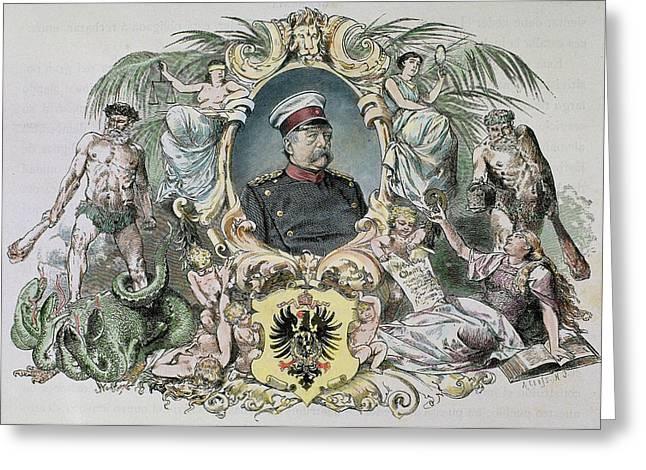 Otto-leopold Bismarck, Prince Greeting Card by Prisma Archivo