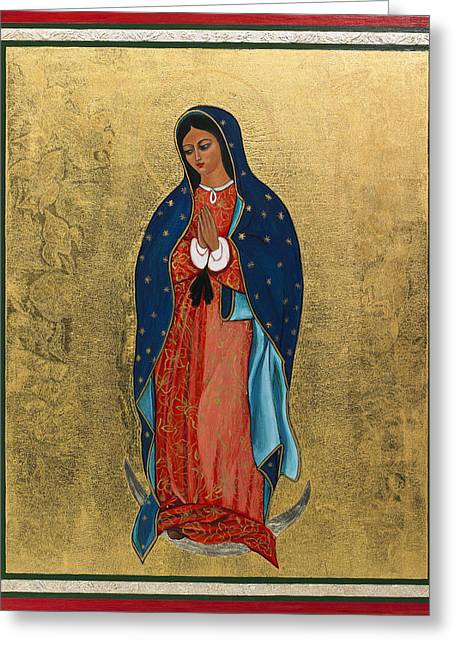 Our Lady Of Guadalupe I Greeting Card by Ilse Wefers