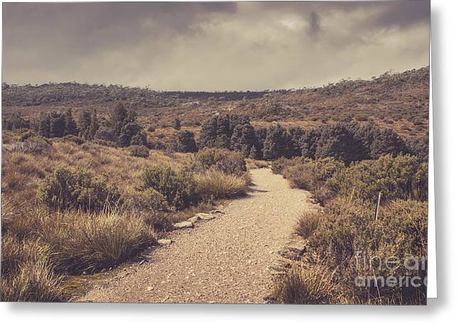 Outback Country Bush Landscape. Rural Australia Greeting Card by Jorgo Photography - Wall Art Gallery