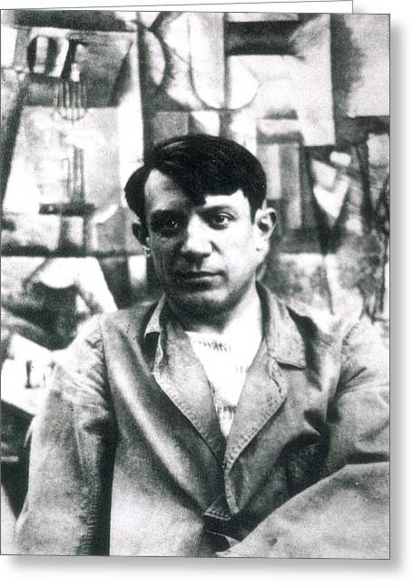 Pablo Picasso (1881-1973) Greeting Card by Granger