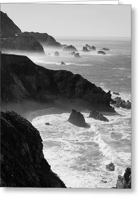 Pfeiffer Beach Greeting Cards - Pacific Coast Greeting Card by Alexander Fedin