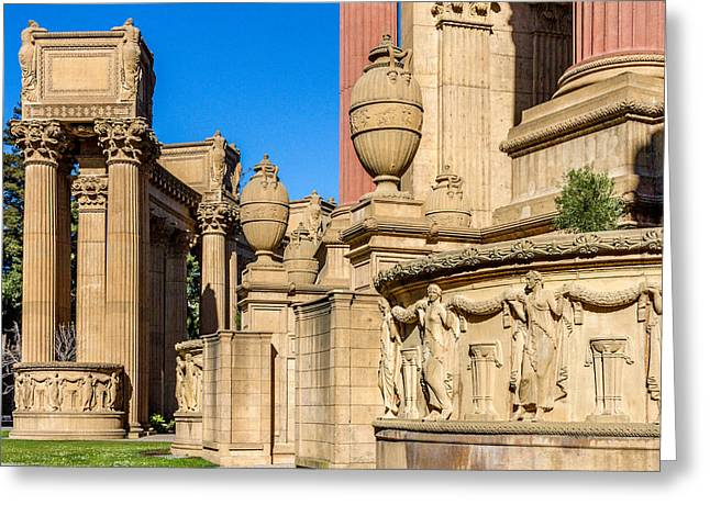 Bill Gallagher Greeting Cards - Palace Of Fine Arts III  Greeting Card by Bill Gallagher