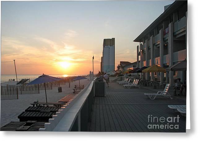 Panama City Beach Greeting Cards - Panama City Greeting Card by Kristen Pagliaro
