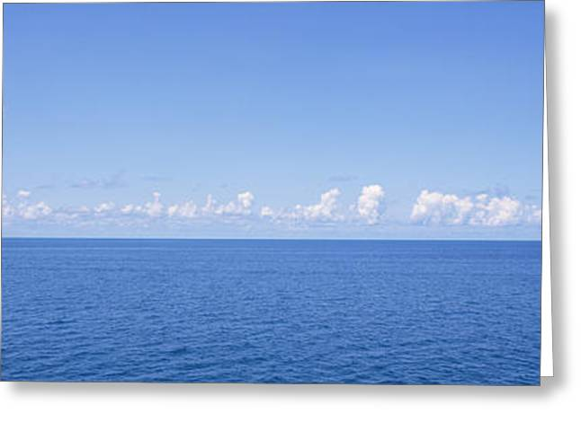 Ocean Images Greeting Cards - Panoramic View Of The Ocean, Atlantic Greeting Card by Panoramic Images