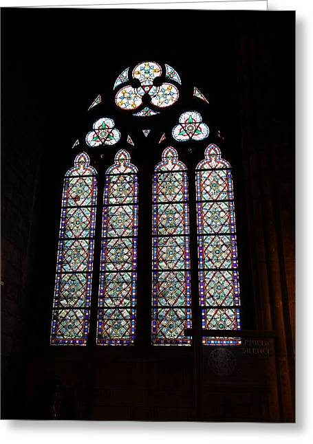 Framed Greeting Cards - Paris France - Notre Dame de Paris - 01133 Greeting Card by DC Photographer