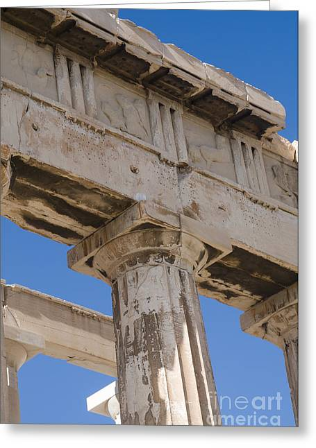 Archaeology Archeological Greeting Cards - Parthenon Acropolis Athens Greeting Card by Ilan Rosen