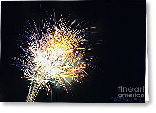 Wpa Prints Greeting Cards - Party Time Greeting Card by Susan Smith