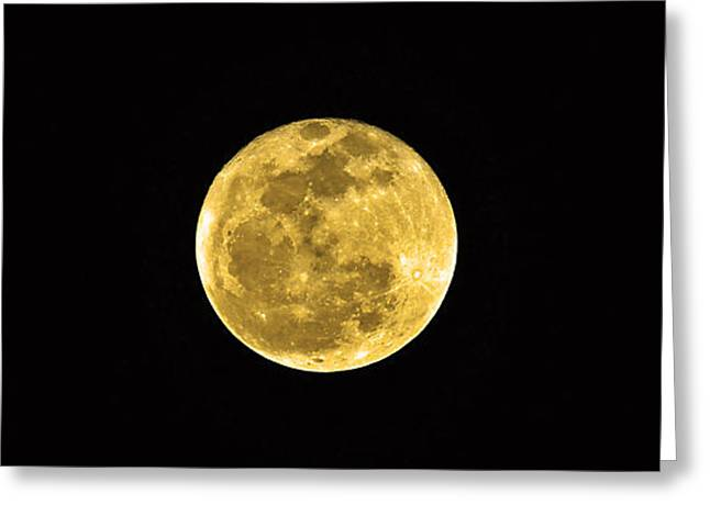 Passover Full Moon Greeting Card by Al Powell Photography USA