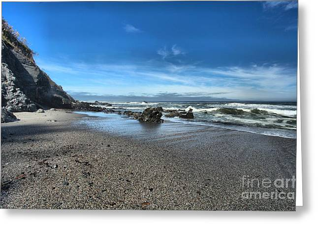 Northern California Beaches Greeting Cards - Patricks Point Landscape Greeting Card by Adam Jewell