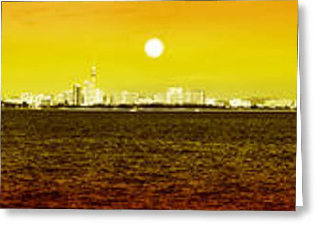 pattaya scenic Greeting Card by ATIKETTA SANGASAENG