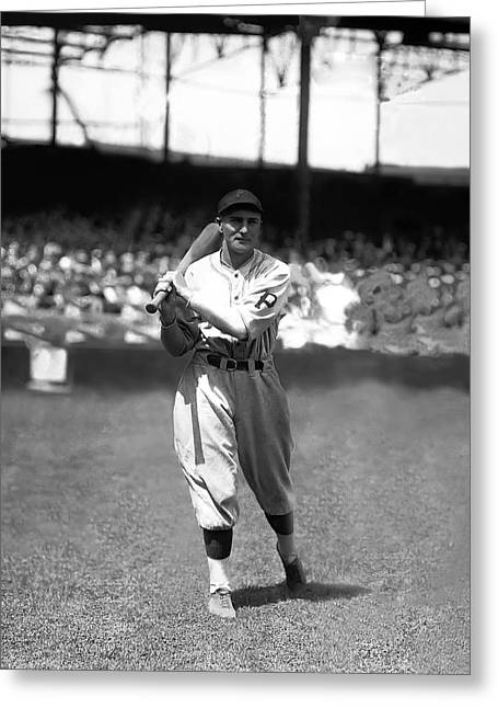 """pittsburgh Pirates"" Greeting Cards - Paul G. Waner Greeting Card by Retro Images Archive"