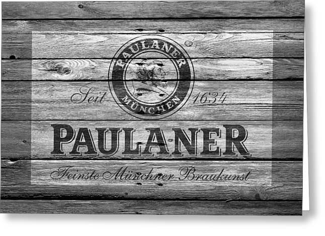 Saloons Greeting Cards - Paulaner Greeting Card by Joe Hamilton