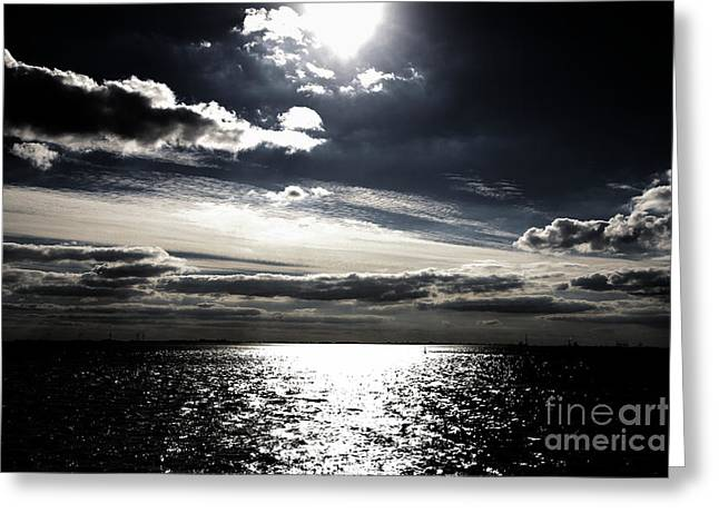 Peaceful Evening Greeting Card by Four Hands Art