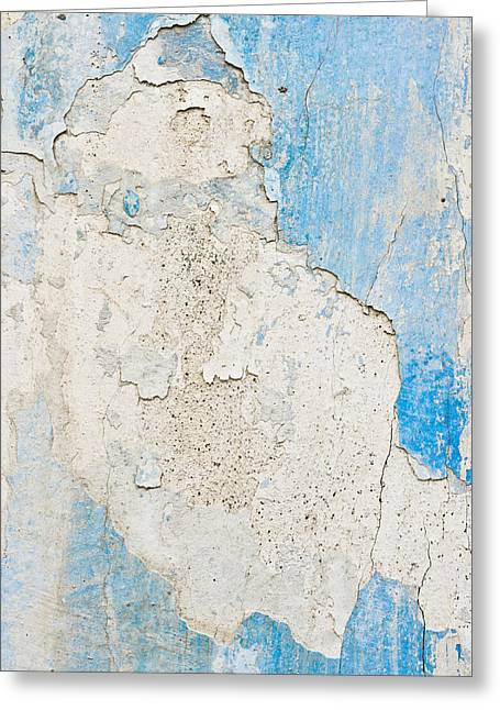 Imperfect Greeting Cards - Peeling paint Greeting Card by Tom Gowanlock