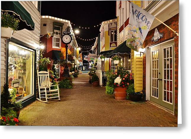 Penny Lane Greeting Cards - Penny Lane - Rehoboth Beach Delaware Greeting Card by Kim Bemis