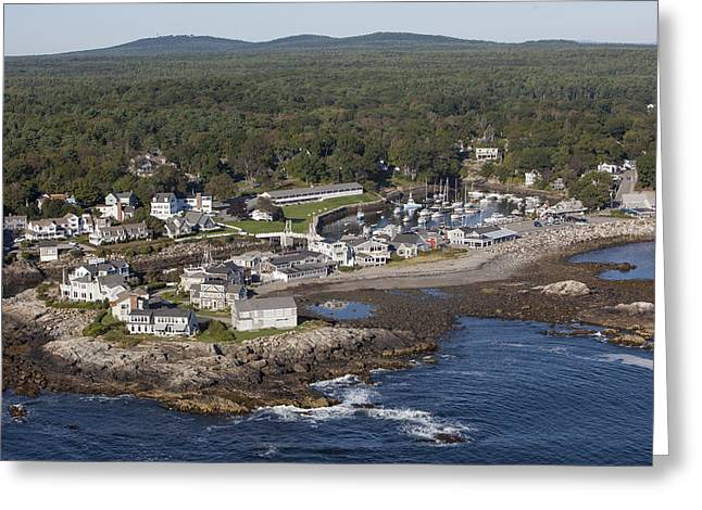 Perkins Cove, Ogunquit Greeting Card by Dave Cleaveland