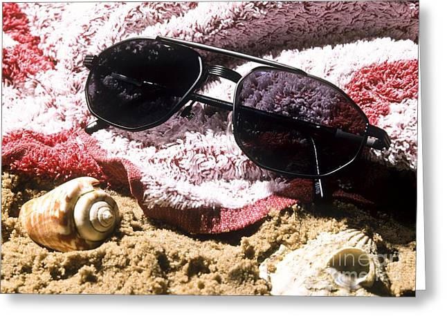Reversible Greeting Cards - Photochromatic Sunglasses Greeting Card by Martyn F. Chillmaid