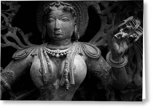 Hindu Goddess Greeting Cards - Photograph Greeting Card by Ramnath Bhat