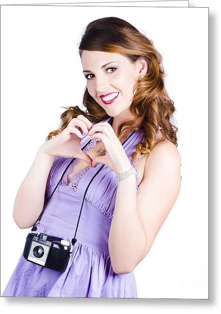 Straps Greeting Cards - Photography love Greeting Card by Ryan Jorgensen