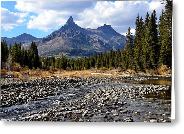 Whalley Greeting Cards - Pilot Peak Greeting Card by Tranquil Light  Photography