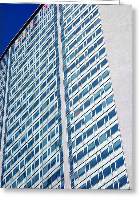 Promotional Greeting Cards - Pirelli Building Greeting Card by Valentino Visentini