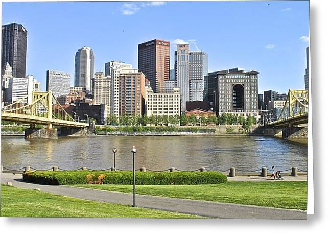 Clemente Greeting Cards - Pittsburgh PA Greeting Card by Frozen in Time Fine Art Photography