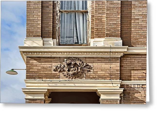 Stein Greeting Cards - Plattsmouth Corner Greeting Card by Nikolyn McDonald