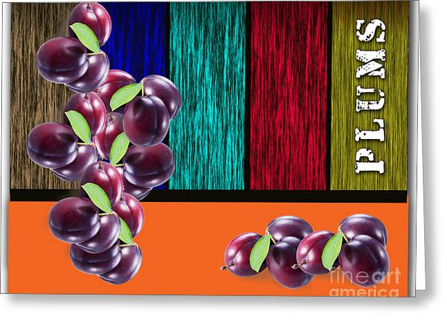 Plums Greeting Cards - Plums Greeting Card by Marvin Blaine