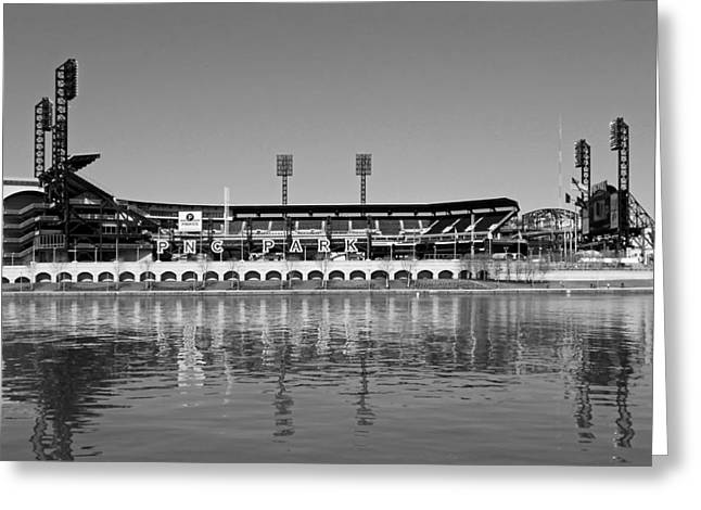 Pennsylvania Baseball Parks Greeting Cards - PNC Park - Home of the Pittsburgh Pirates Greeting Card by Mountain Dreams