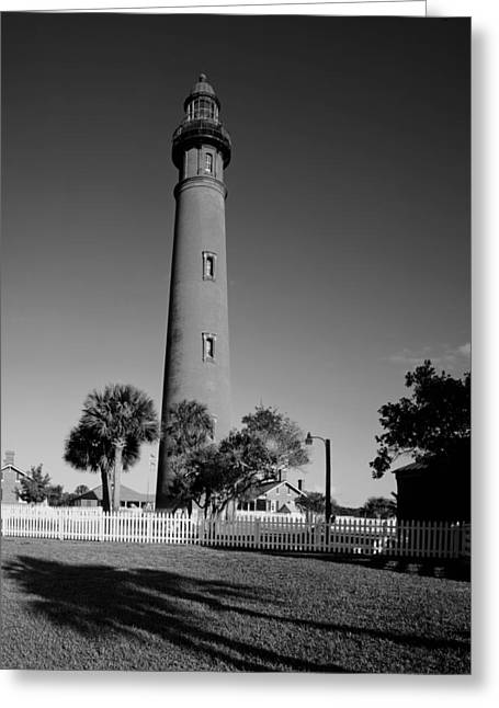 Ponce Greeting Cards - Ponce de Leon Lighthouse - Florida Greeting Card by Mountain Dreams