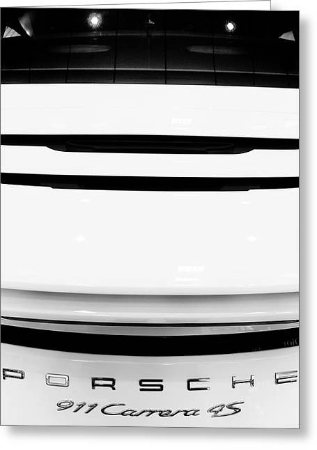Auto Greeting Cards - Porsche Greeting Card by Stylianos Kleanthous