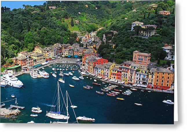 Portofino Italy Greeting Cards - Portofino - Italy Greeting Card by Richard Krebs