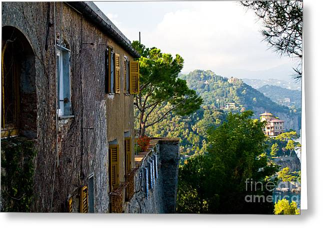 Portofino Italy Greeting Cards - Portofino Greeting Card by Carl Jackson