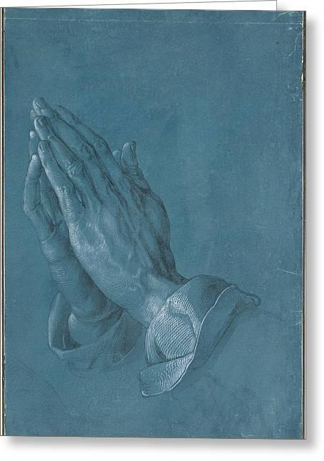 Praying Hands Greeting Cards - Praying Hands Greeting Card by Albrecht Durer