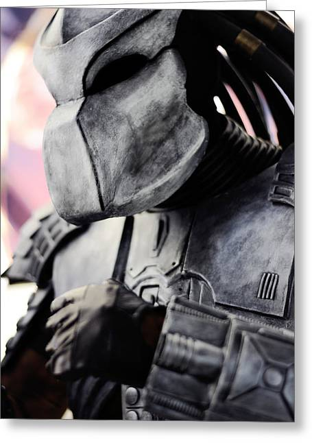 Xfiles Greeting Cards - Predator Greeting Card by Toppart Sweden