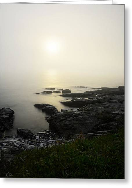 New England Landscape Greeting Cards - Prelude Greeting Card by Lourry Legarde