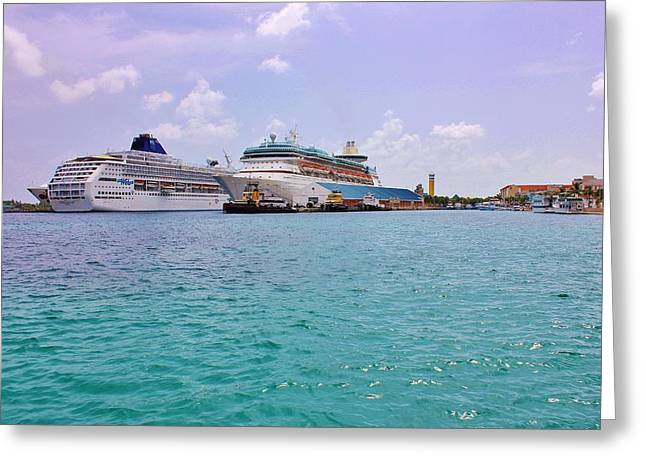 Paradise Pier Attraction Greeting Cards - Prince George Wharf Greeting Card by Iryna Burkova