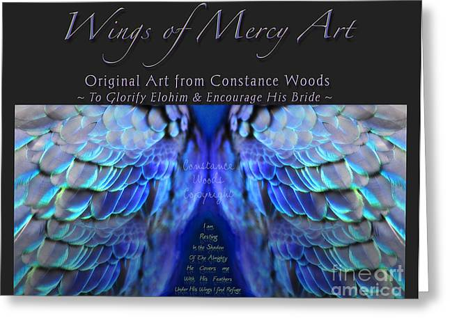 Warrior Bride Greeting Cards - Prophetic Art Book Greeting Card by Constance Woods