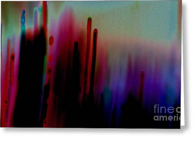 Pulsating Greeting Cards - Pulse Greeting Card by Jacqueline McReynolds