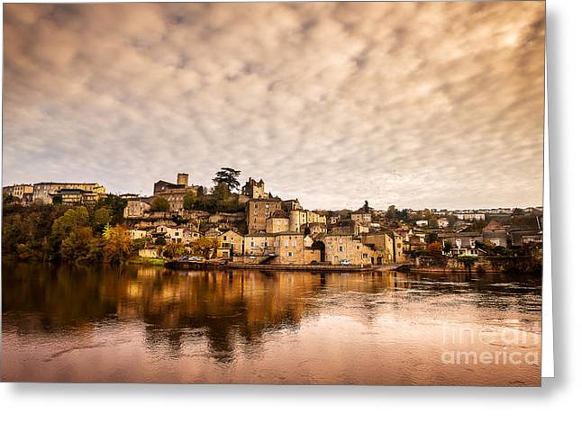 Midi Greeting Cards - Puy lEveque Greeting Card by Tony Priestley